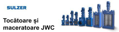 JWC Sulzer tocatoare si maceratoare pentru canalizari